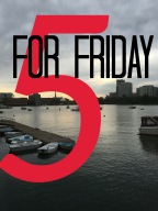 5 for Friday: Race Weekend!